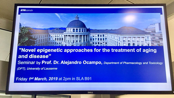 Alex presents at ETH Zurich