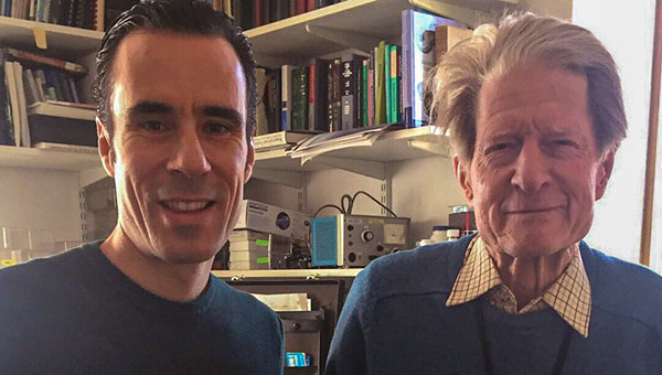 Sir John Gurdon and Prof. Alejandro Ocampo